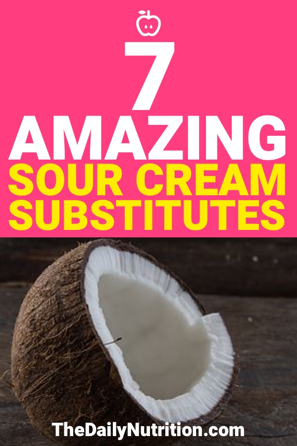 Some of us have dietary restrictions which make some foods hard to eat, like sour cream. Because of that, here are 7 sour cream substitutes that are able to be used by anyone.