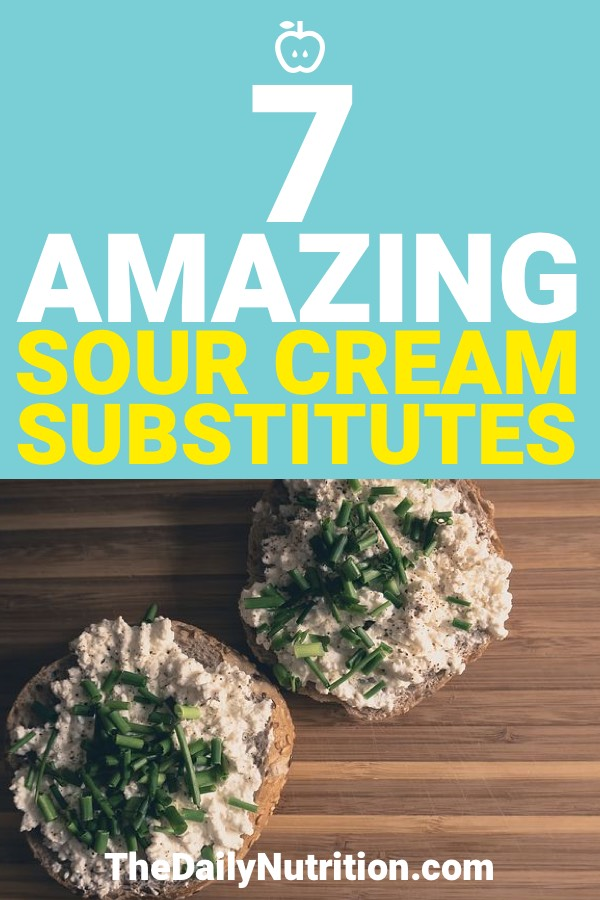 Sour cream is a popular ingredient but not everyone can have it. Here are 7 sour cream substitutes that anyone can use.