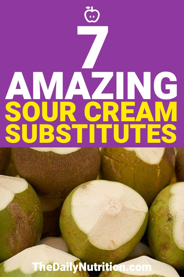 If you are looking for a sour cream substitute because you can't have regular sour cream, then you're in luck. Here are 7 sour cream substitutes that anyone can use.