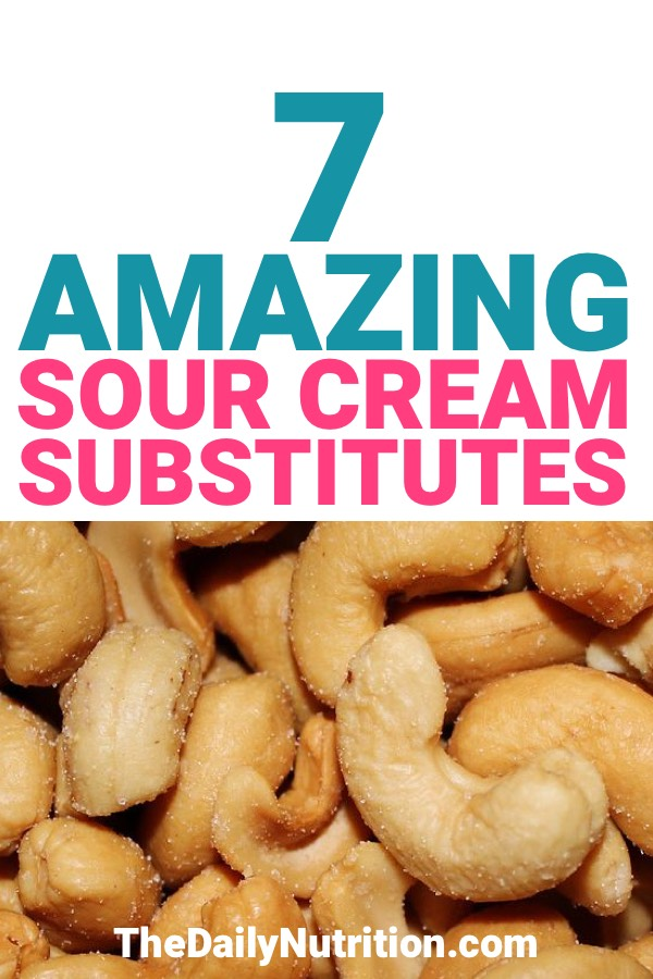 Some of our dietary restrictions cause us to not have regular sour cream. Here are 7 sour cream substitutes that anyone can use at any time.