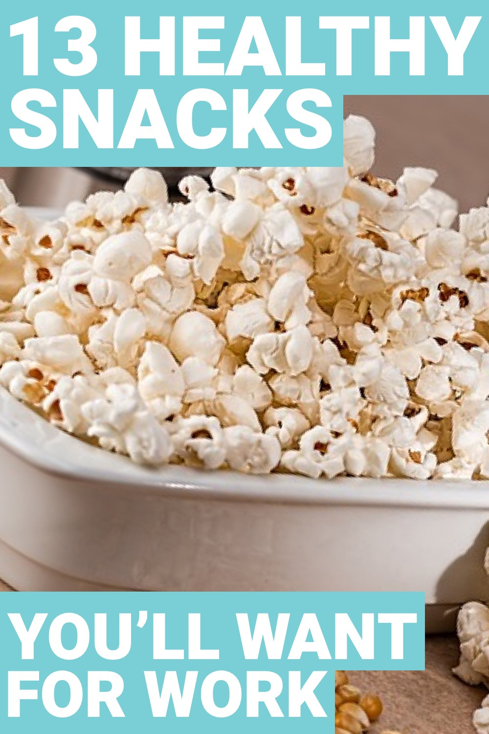 The workday can be long and daunting, especially when you want a snack. Here are 13 healthy snacks for work.
