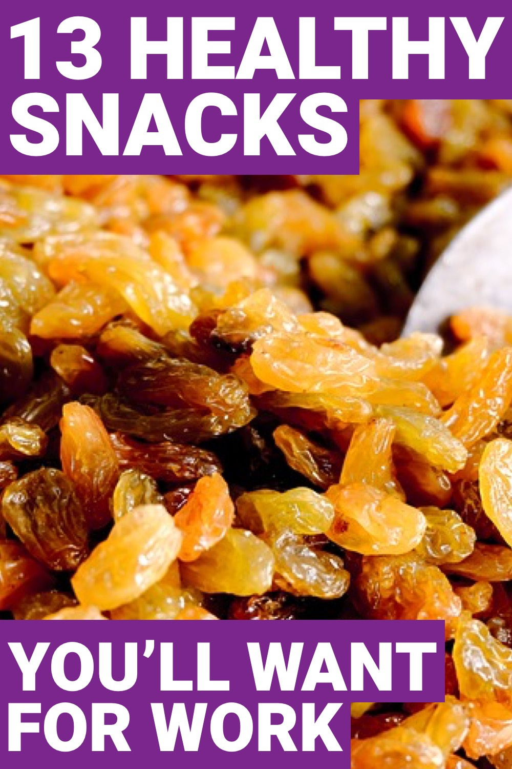 If you're looking to be healthy at work, you need to make sure you have healthy snacks. Here are 13 healthy snacks for work.