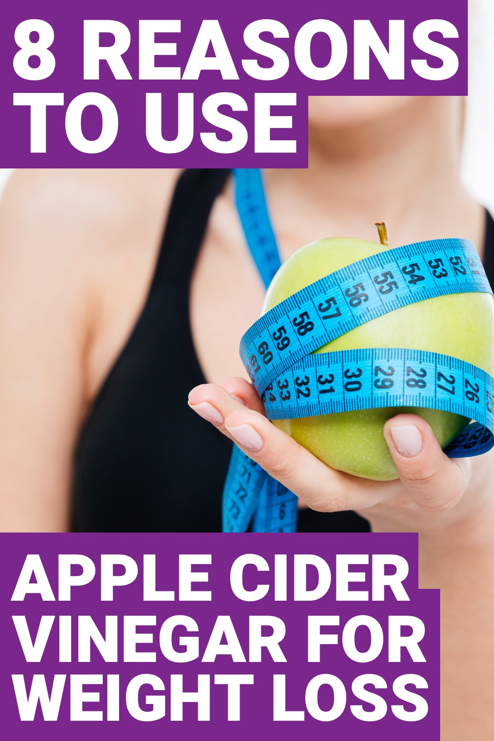 Drinking apple cider vinegar on a daily basis is going to help improve your overall health. Mainly, you'll start experiencing some weight loss. Here are 8 reasons why you should use apple cider vinegar for weight loss.