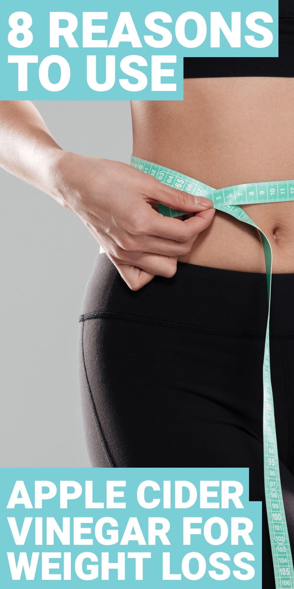 Apple cider vinegar for weight loss is great. Here are 8 reasons why you should use apple cider vinegar for weight loss.