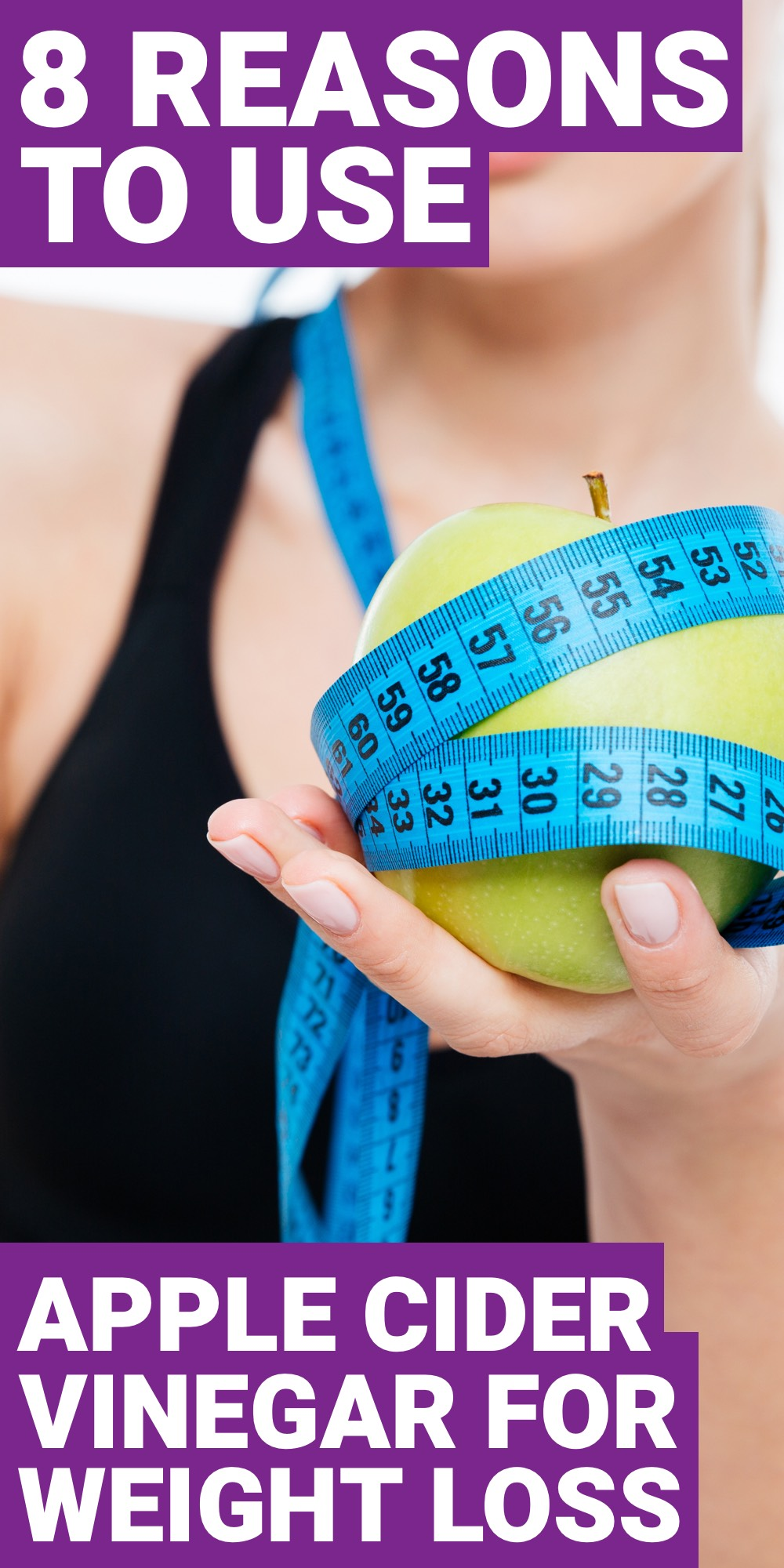 If you want to use apple cider vinegar for weight loss then you should look at these 8 reasons why apple cider vinegar should be used for weight loss.