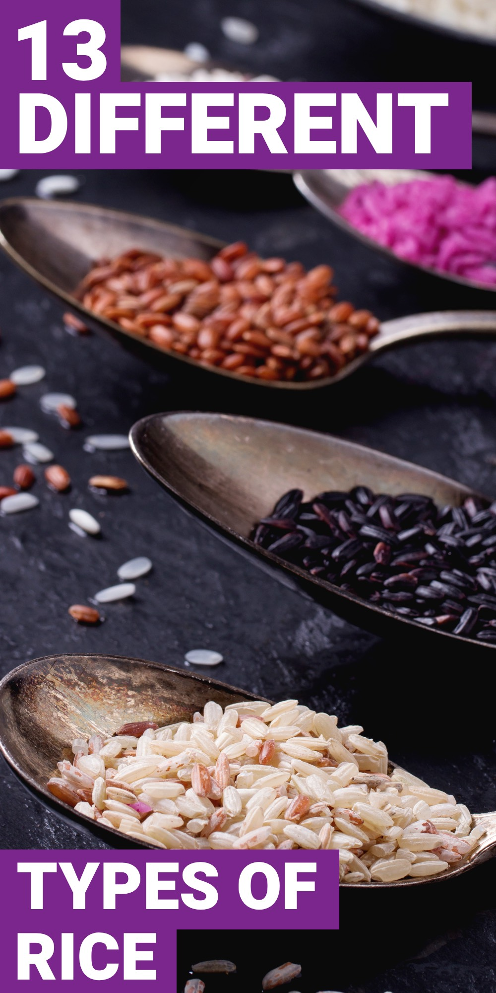 If you're looking for more variety out of your rice, then you need to explore the different types of rice out there. Here are 13 different types of rice you should know about.
