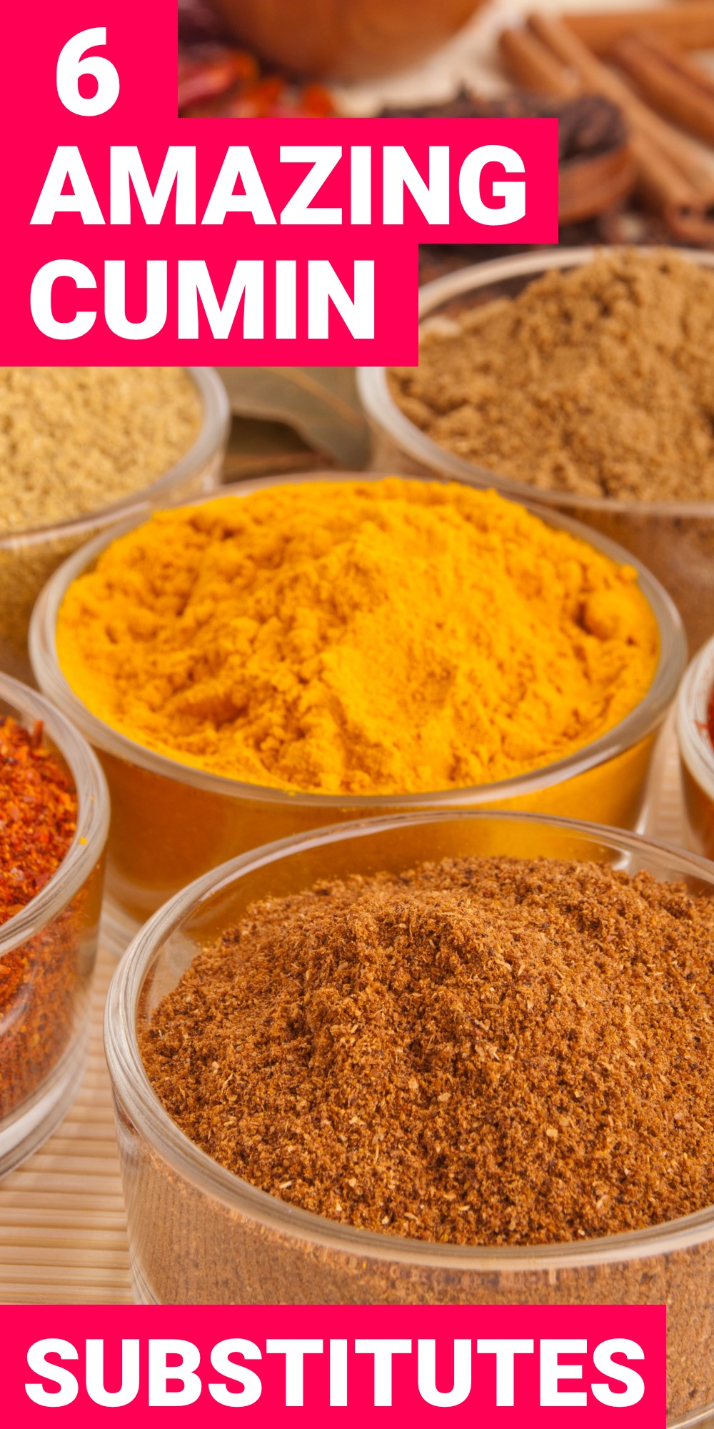 Cumin is a very popular spice that gets used in a number of recipes. However, cumin may not always be present. Here are 6 cumin substitutes for when you need them.