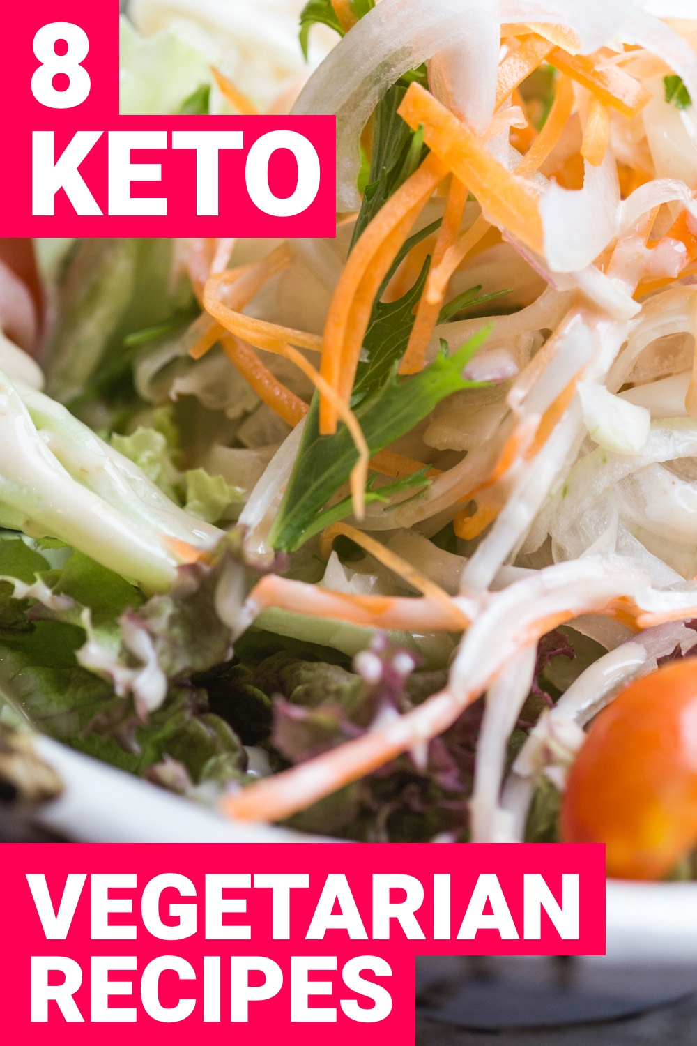 Being a vegetarian on the ketogenic diet can present some challenges. But it is still possible to have success with it. Here are 8 keto vegetarian recipes that everyone can enjoy.