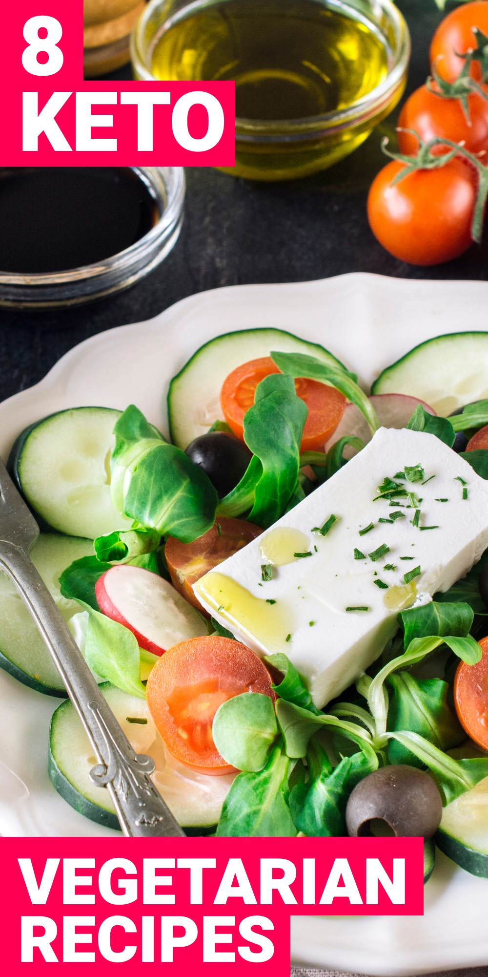 Being a vegetarian and on the ketogenic diet may not be a very ideal situation but it's easily possible. Here are 8 keto vegetarian meals that will help you reach ketosis.