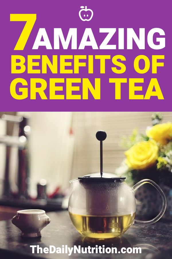 Green tea has a lot of benefits you may not have thought of. Here are 7 green tea benefits that'll improve your health.