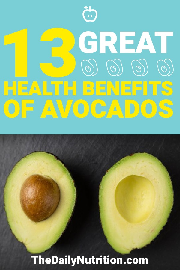 When you eat an avocado, you're improving your health in more ways than one. Here are 13 health benefits of avocados.