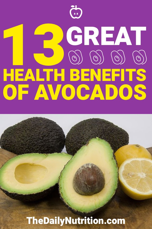 Avocado benefits are plentiful and greatly increase your health. Here are 13 health benefits of avocados that you should know.