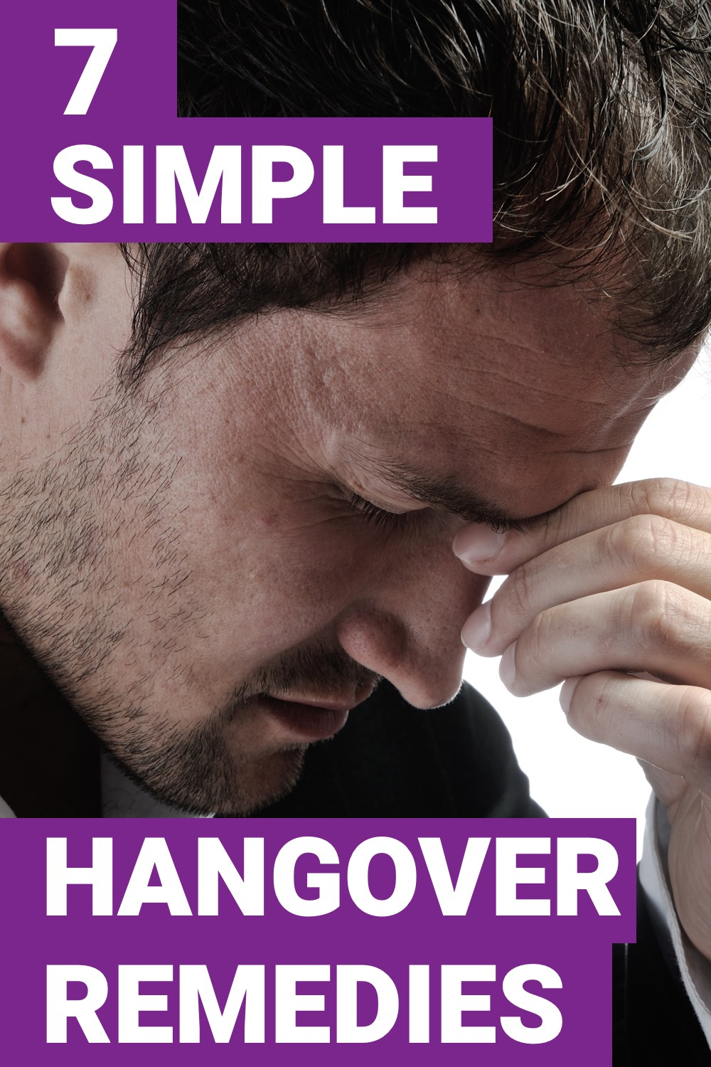 Having a hangover can leave you incapacitated all day. Here are 7 hangover remedies that everyone needs.