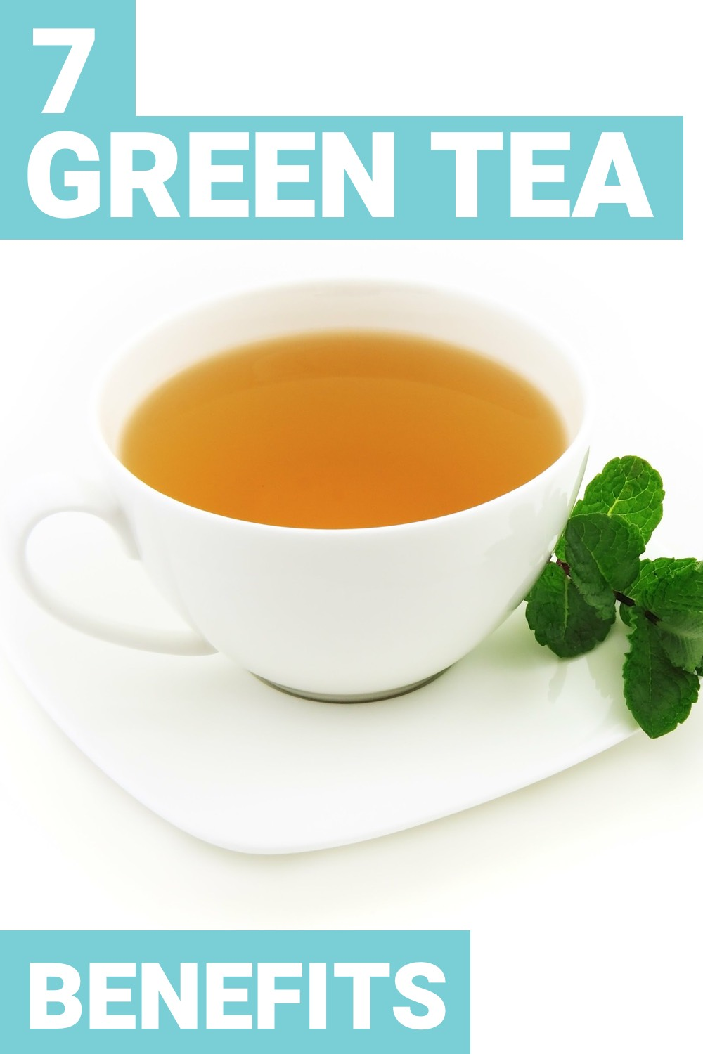 Green tea is a popular drink that is extremely healthy for you. Here are 7 benefits of green tea.