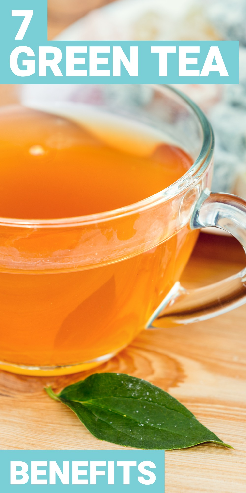 The benefits of drinking green tea are more than that it tastes delicious. Here are 7 of the top health benefits of green tea.