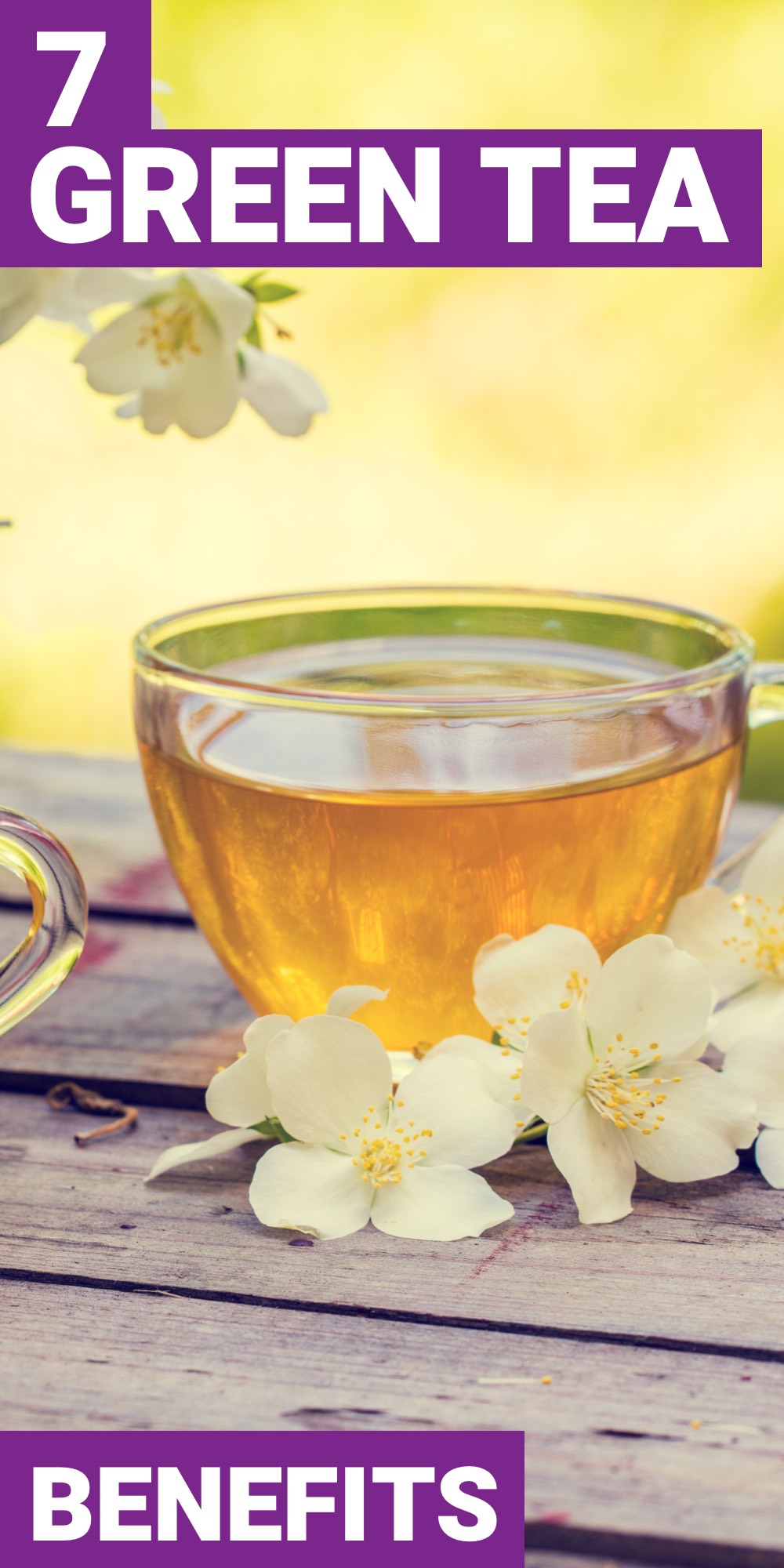 The health benefits of green tea are good for anybody. Here are 7 benefits of green tea that everyone should take advantage of.