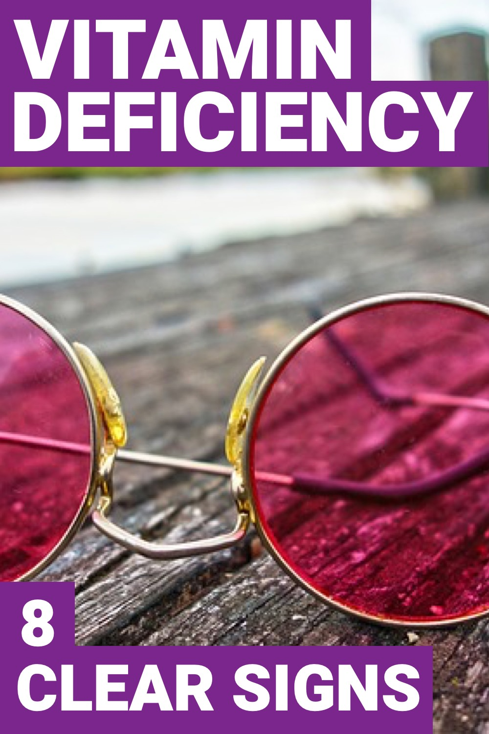 Do you have a vitamin deficiency? If you aren't too sure then here you can find 8 signs and symptoms that you have a vitamin deficiency.