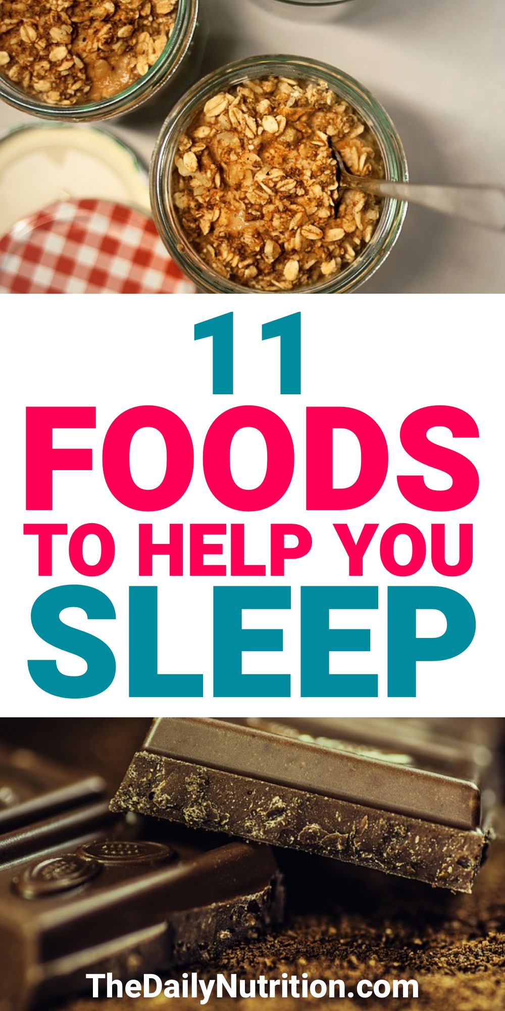 Sleep is just as important as getting the right nutrition. Combine the two and you're sitting pretty. Here are 11 foods that will help you go to sleep.
