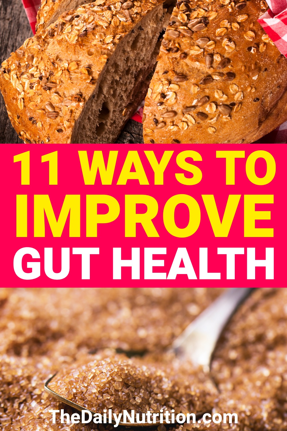 If you're ever wondering how to improve gut health, look here. You'll find 11 ways to improve gut health.