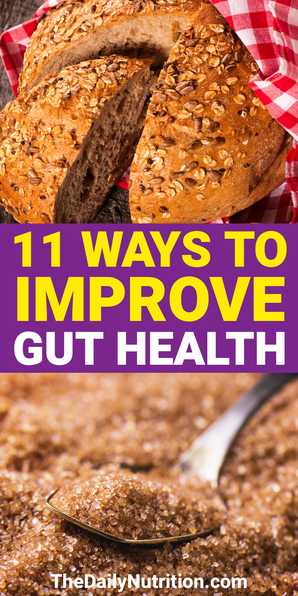 You can improve gut health with through these 11 tips. It'll greatly change your gut health relatively quickly.