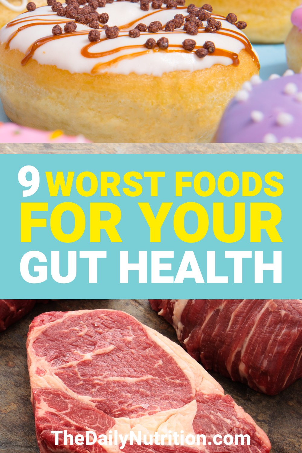 Your gut health is important. What you eat affects your gut health. Here are 9 foods to avoid for your gut health.