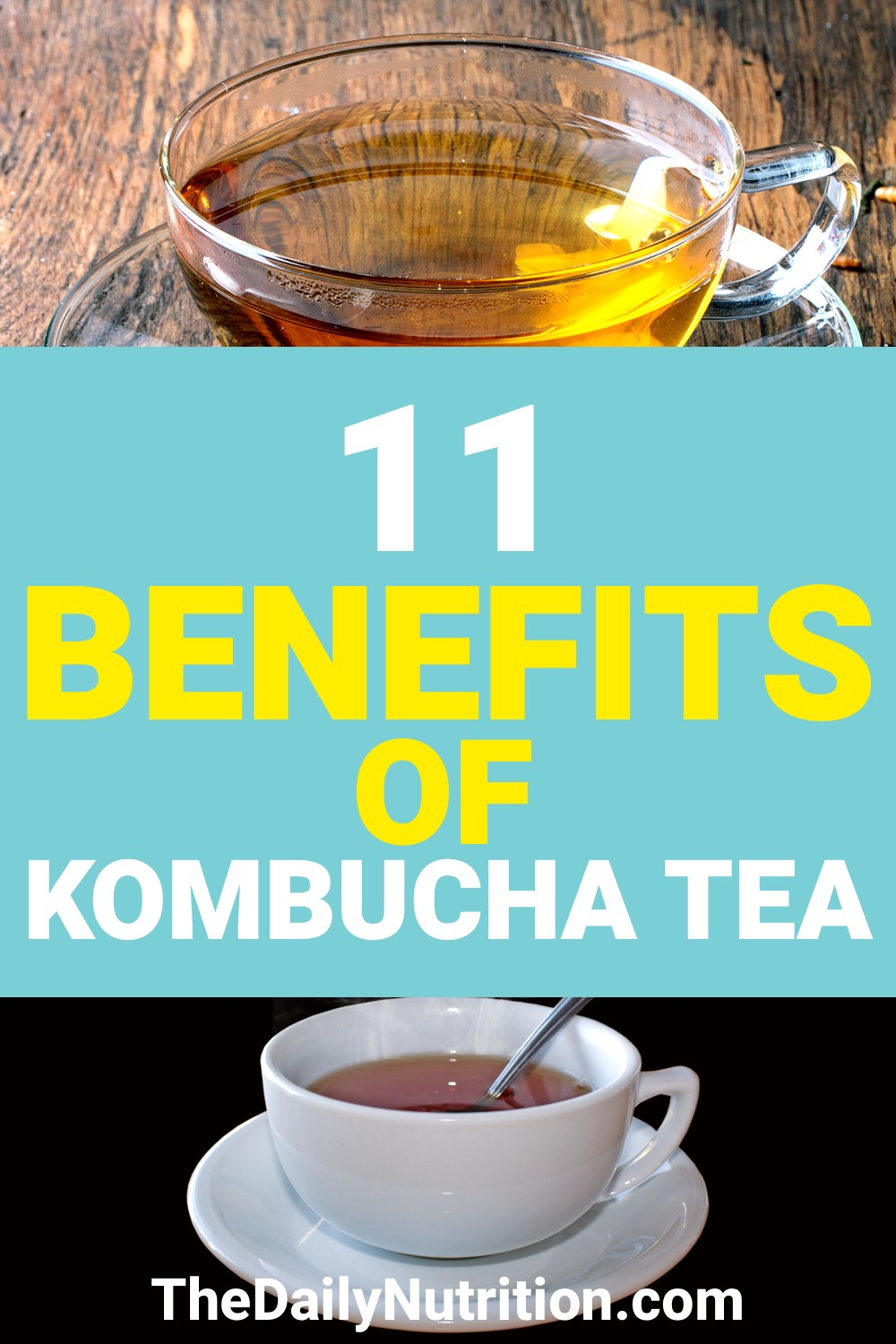 Kombucha is a drink that is great for your health. Here are 11 kombucha tea benefits that you need.