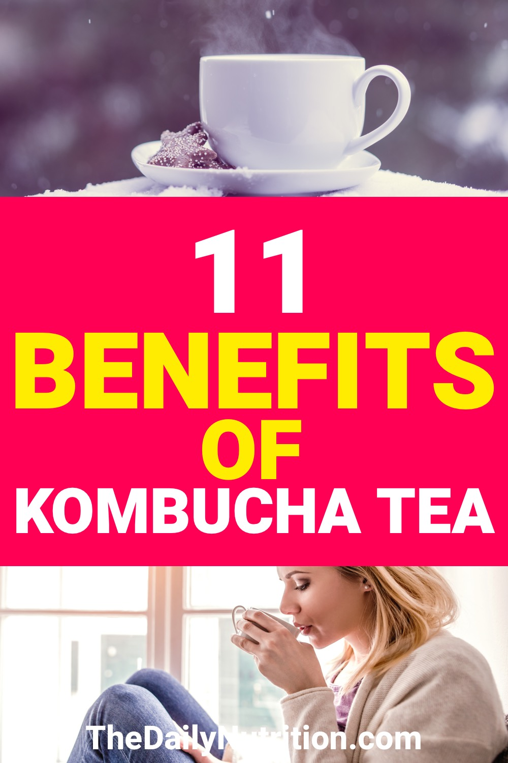 Having kombucha is going to improve your health. Here are 11 kombucha benefits that you'll instantly notice.