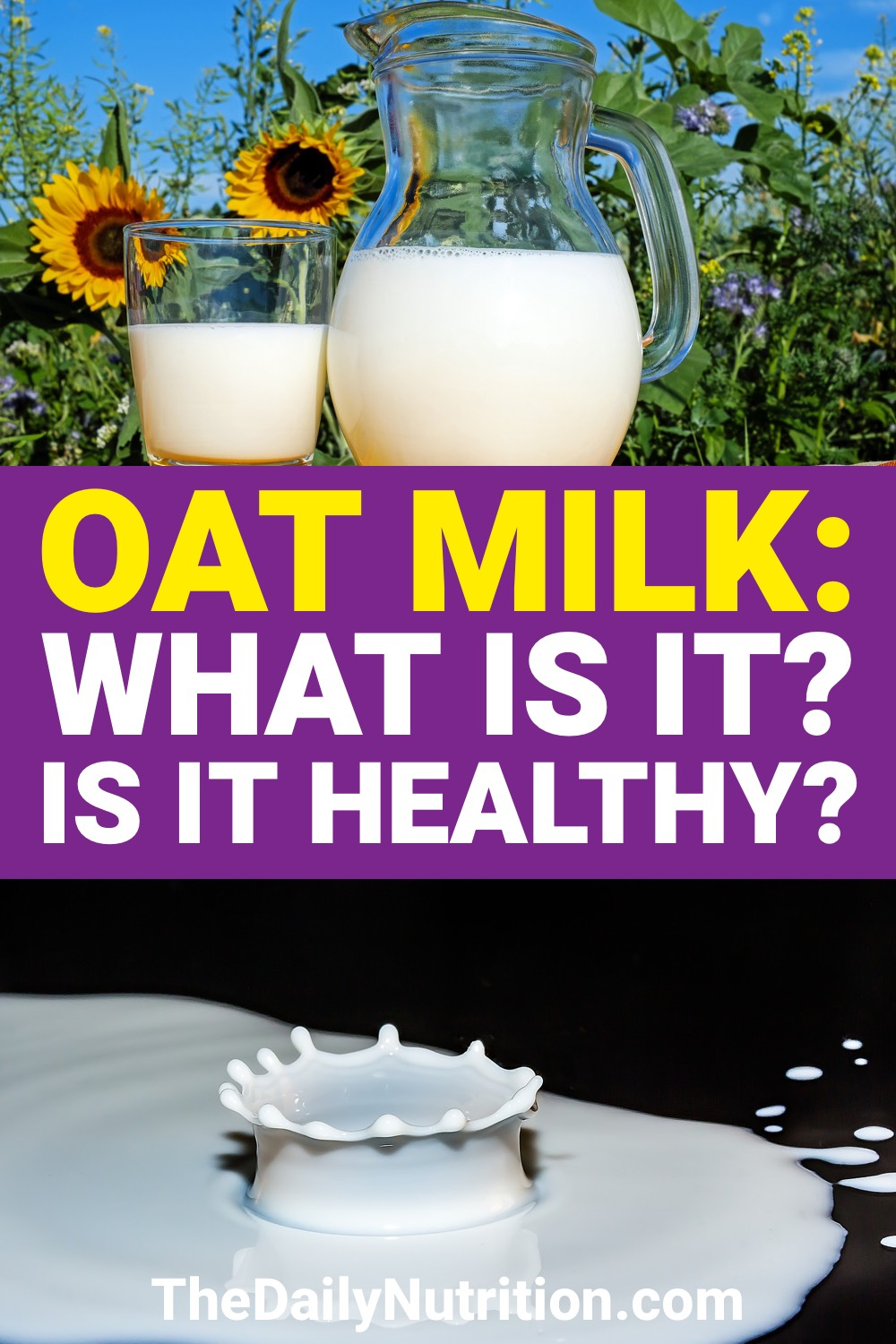 If you want an alternative to regular milk, take a look at oat milk. Here are benefits of oat milk and why you should drink it.