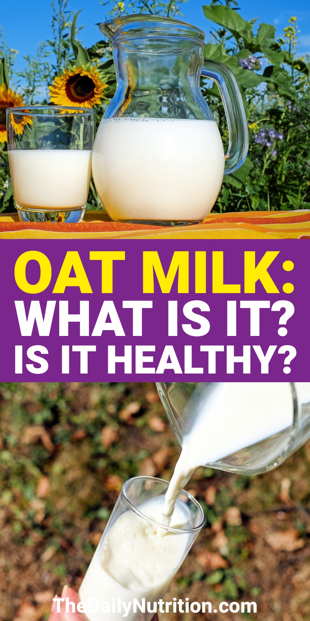Oat milk is different than regular milk in a lot of ways. Find out oat milk benefits here along with why you should start drinking it.