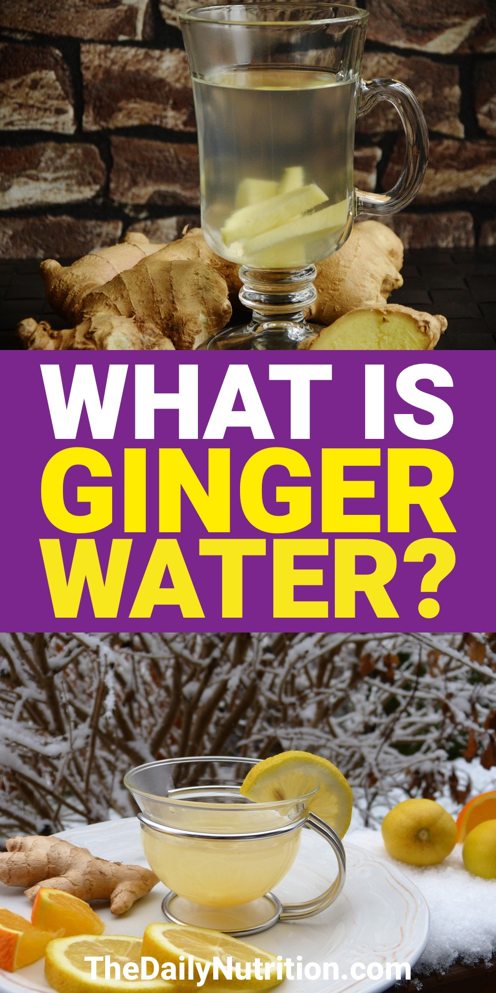 If you want a healthier body, incorporating ginger water into your diet will help. Find out the ginger water benefits here.