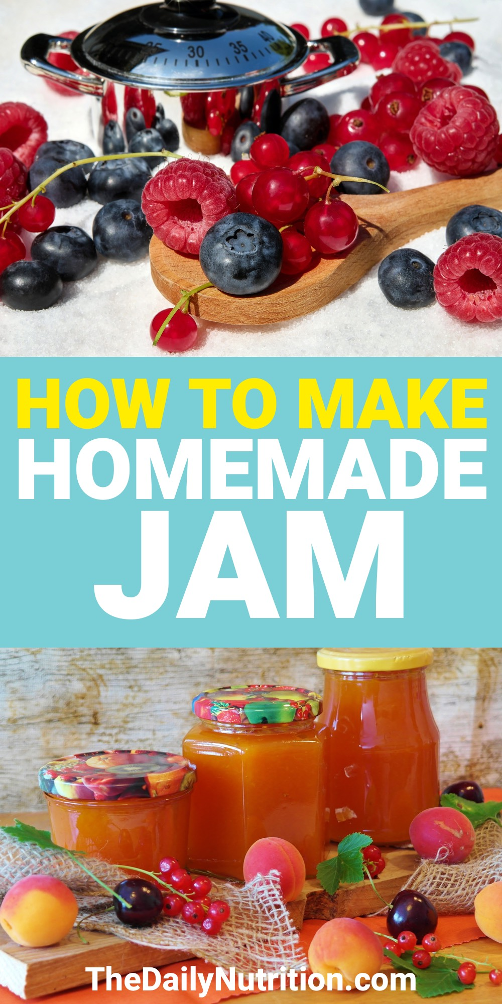 Homemade jam recipes aren't nearly as difficult as you may think. Here is a homemade jam recipe that anybody can use.