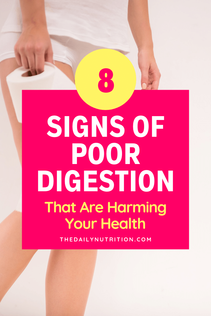 Do you typically have stomach aches after eating? This could mean you have poor digestion. Here are other signs that you have poor digestion.