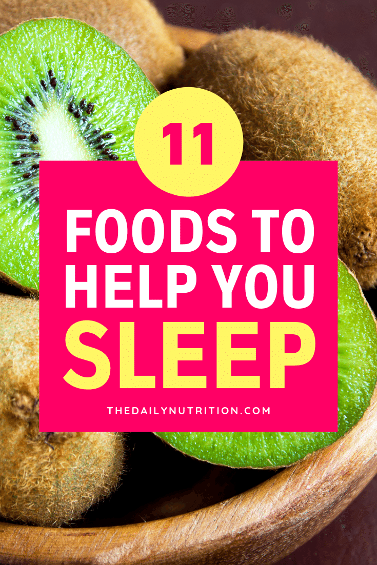 When you're struggling to sleep and don't know what to do, look towards food. Here are 11 foods that will help you get to sleep.