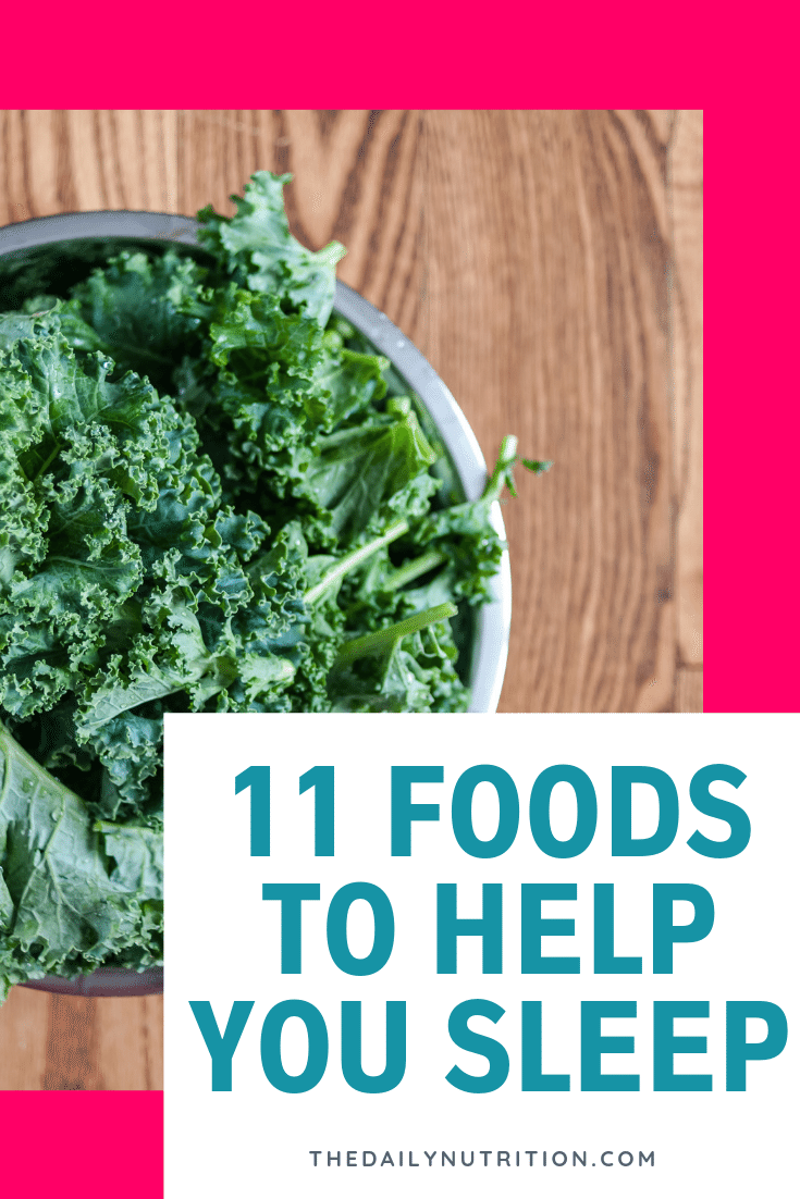 Going to sleep can be a struggle for some. When this happens, look at these 11 foods that will help you get the sleep you really need.
