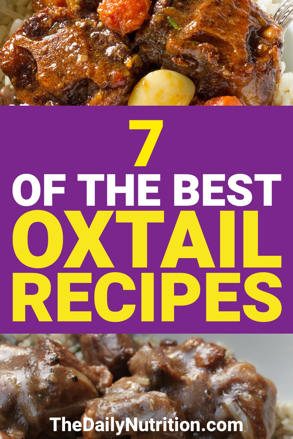 Oxtail is delicious. If you don't believe me, here are 7 oxtail recipes that will prove me right.