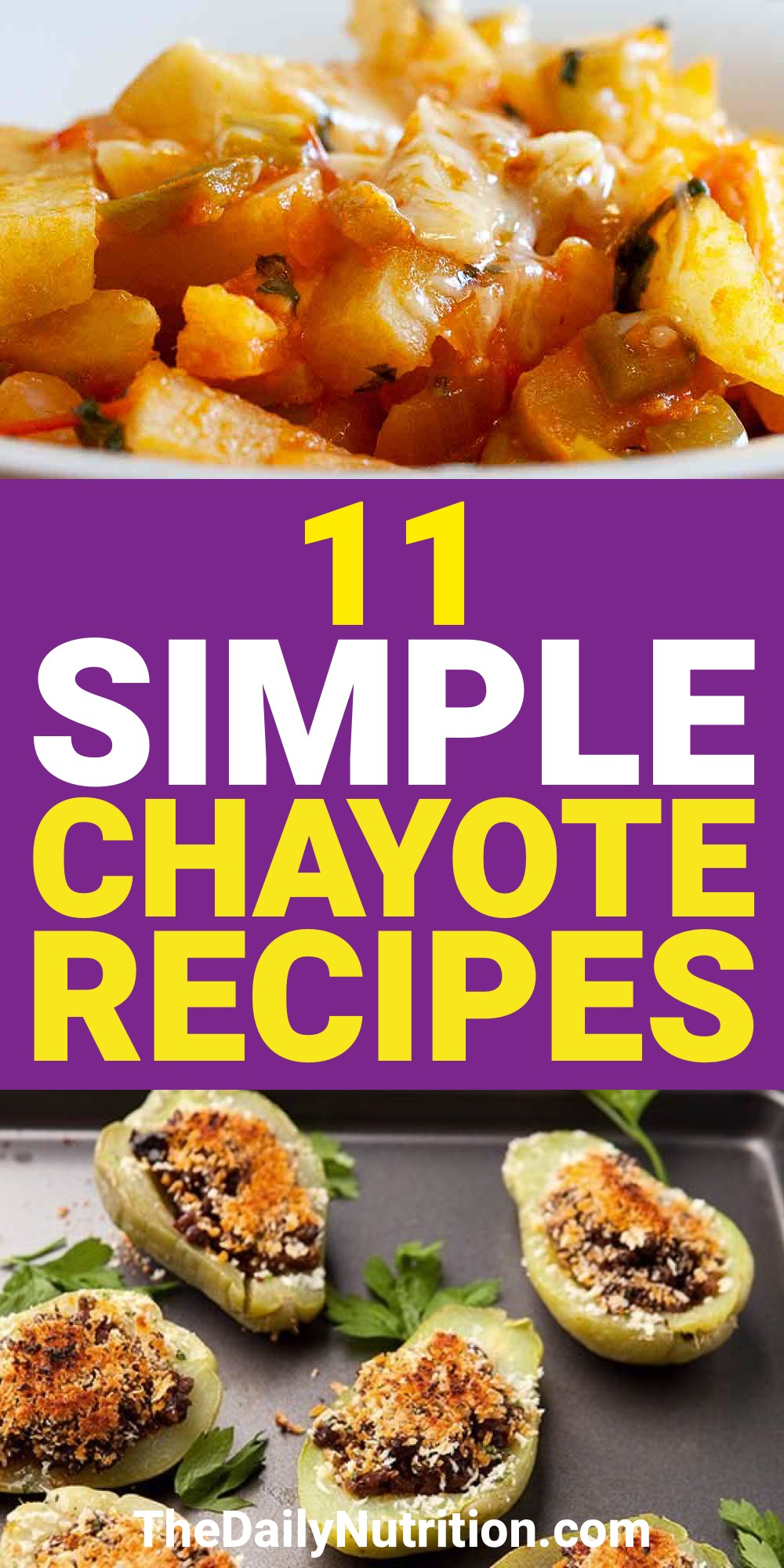 Chayote is a food that everyone should try at least once. Here are 11 chayote recipes that can give you that chance.