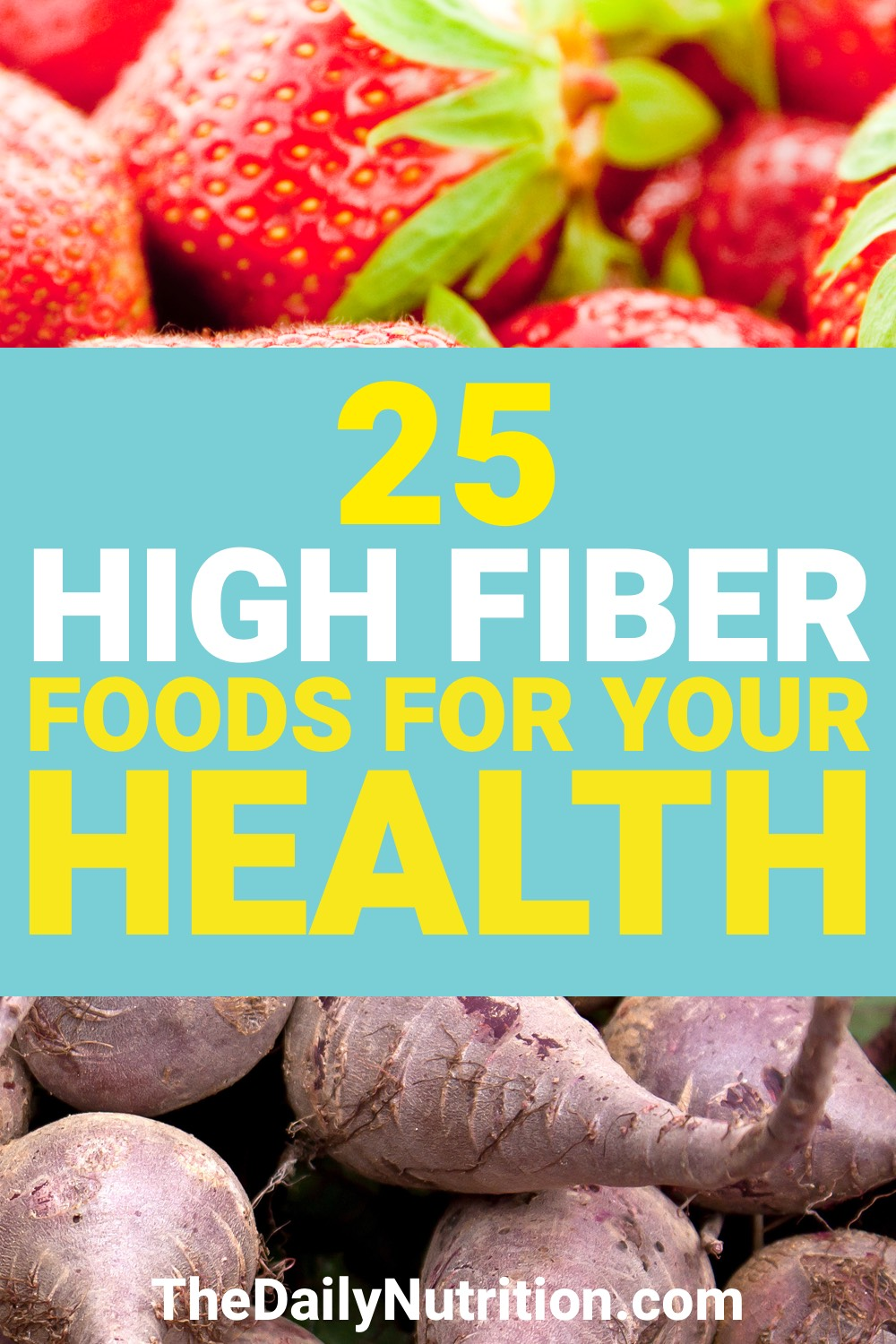 Finding high fiber foods isn't always easy. Here are 25 high fiber foods that you need.