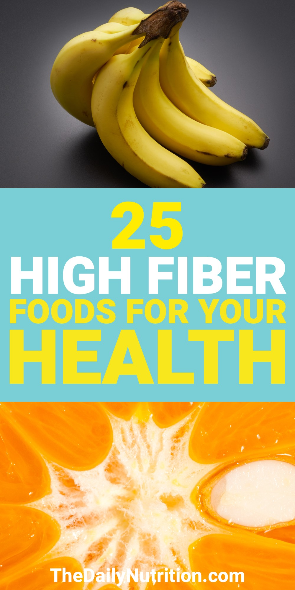 Getting the fiber you need on a daily basis is never easy. Here are 25 high fiber foods that you need.