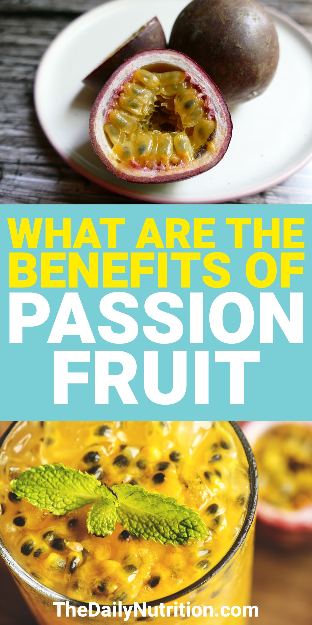 What is passion fruit? Is it good for you? What is passion fruit nutrition? Find out the answers to these questions and more here.