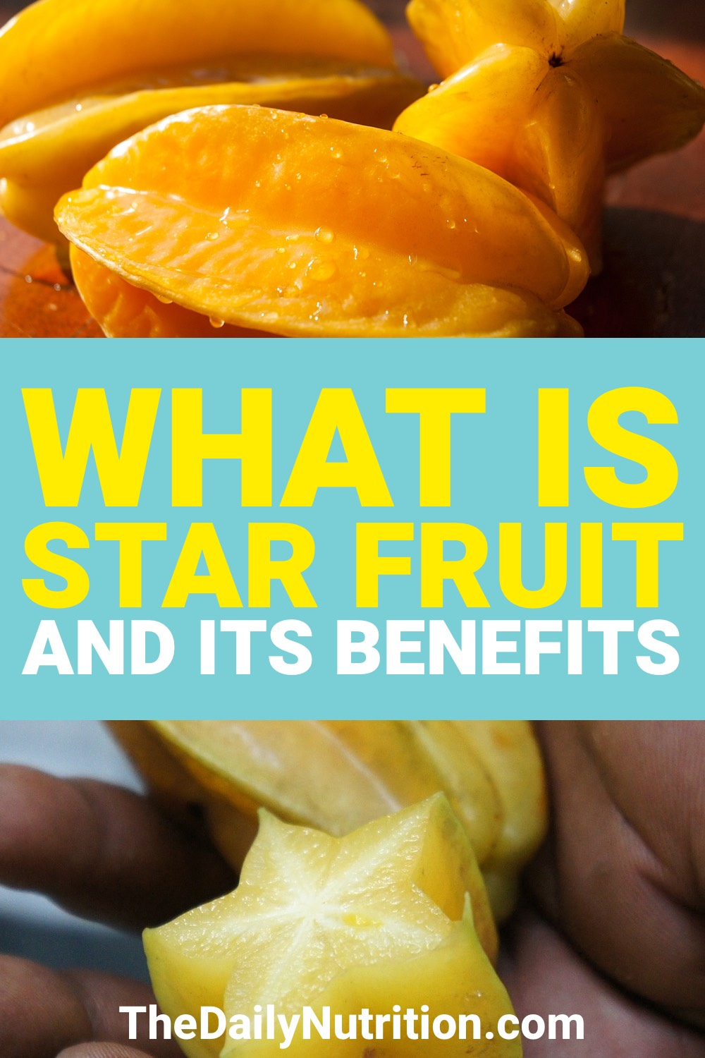 What is star fruit? Have you ever had it before? It's a delicious fruit that you should try.