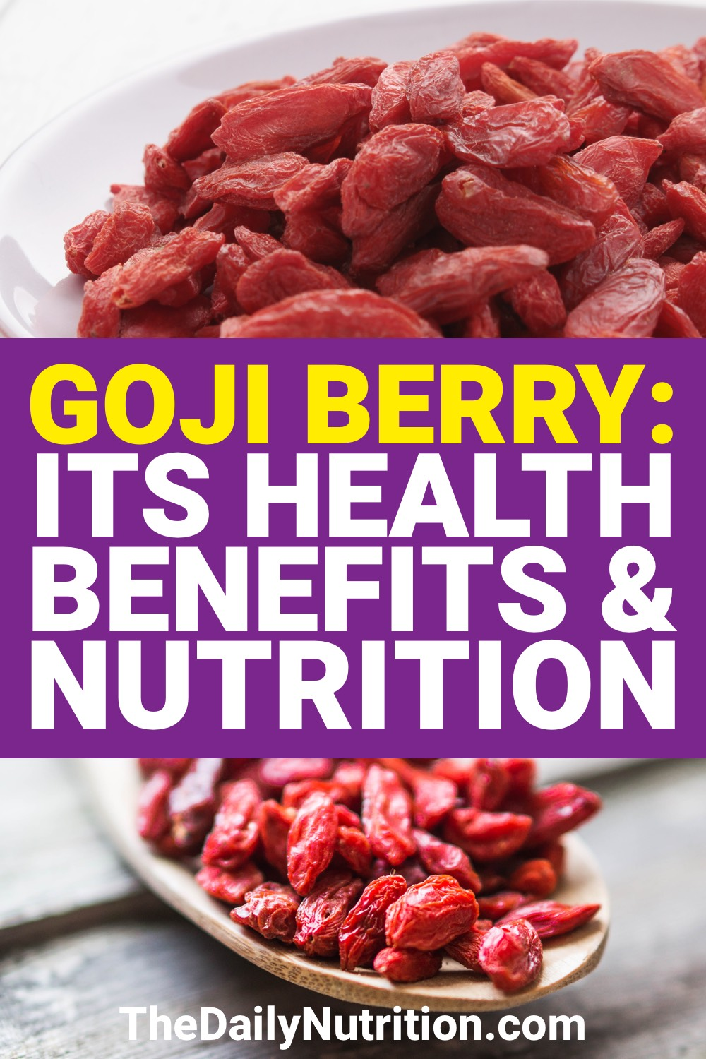The health of goji berries may be unmatched by any other fruit. Find out goji berry benefits here.