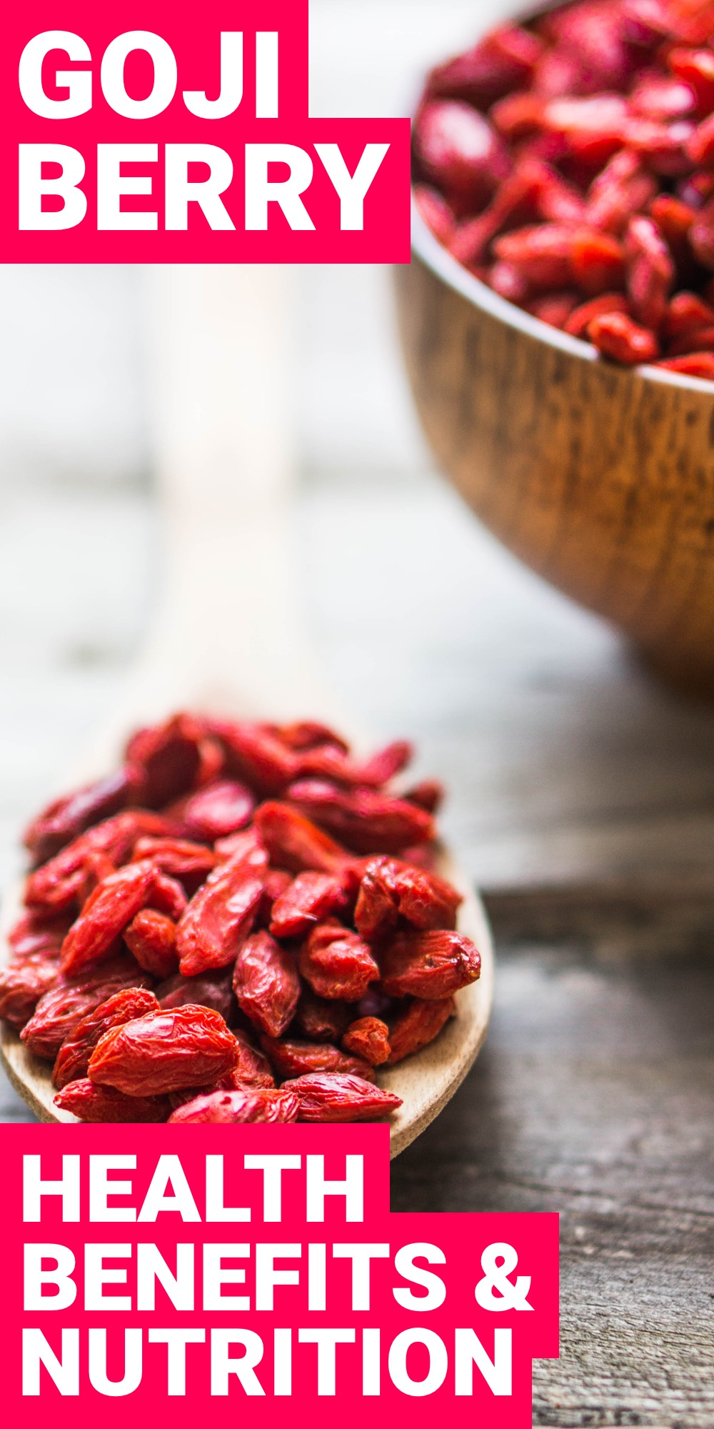 What are goji berries? Have you ever had one? These tiny fruits are something that everyone needs to have in their life.