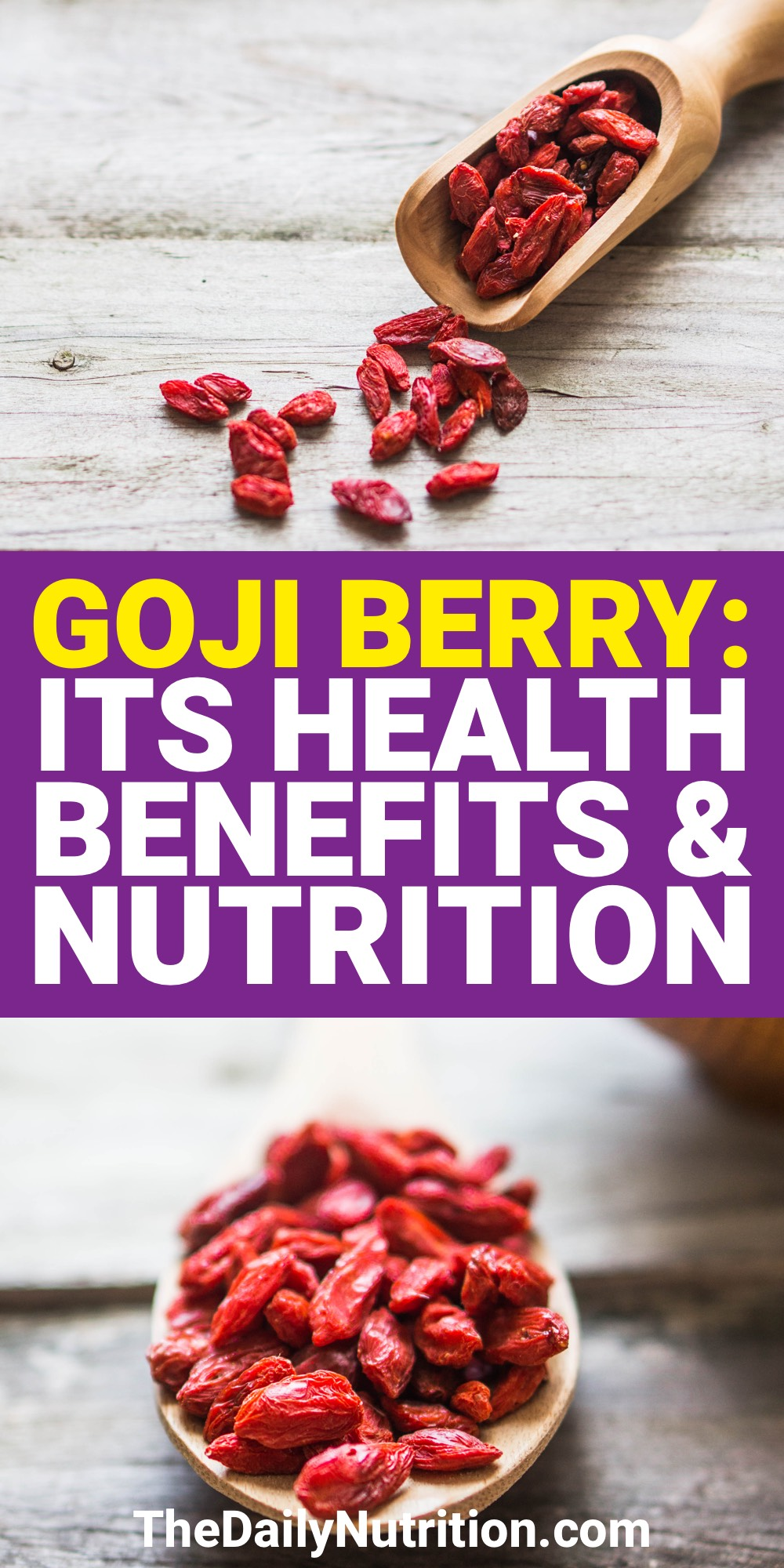 The goji berry is extremely healthy. Goji berry benefits are unlike any other fruit. Find out the benefits here.