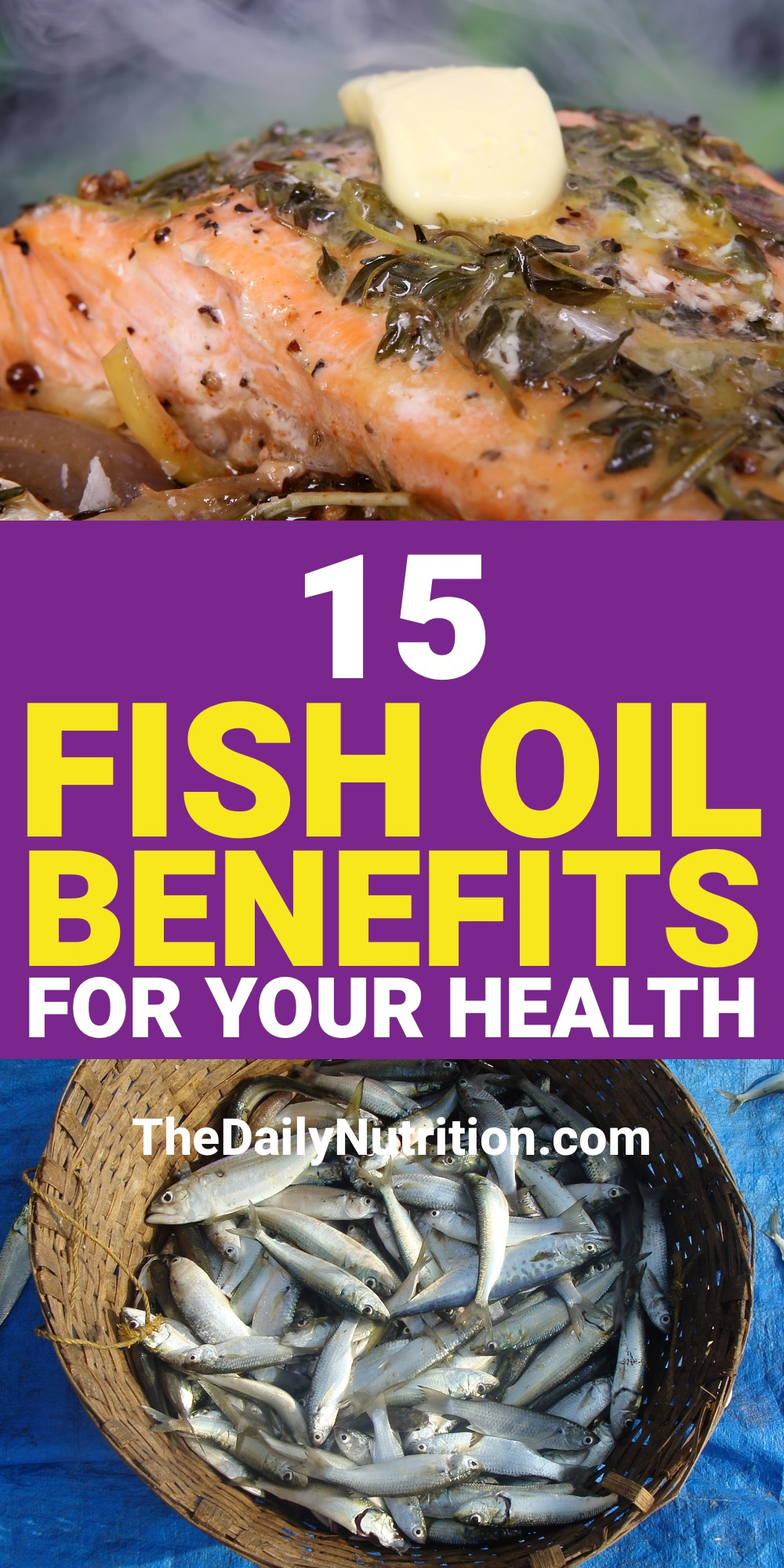 If you have fish oil in your life then you are going to be healthier than the average person. Here are 15 fish oil benefits that you need.