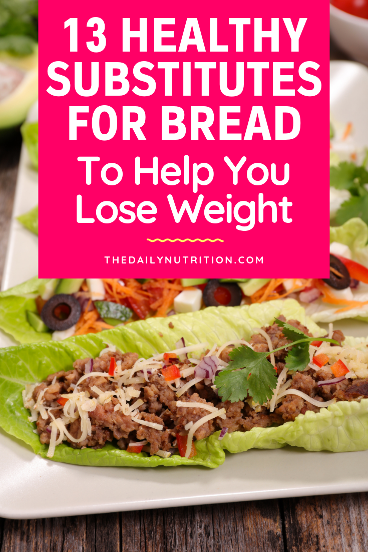 Bread isn't the healthiest. Here are 13 bread substitutes that are much healthier.