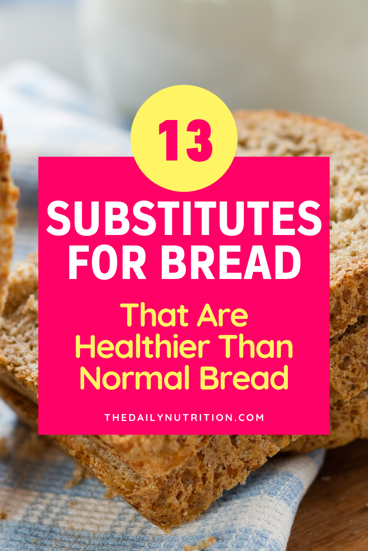 Bread substitutes are everywhere. You just need to know where to look. Luckily you don't have to look far. Here are 13 bread substitutes that you can easily find.