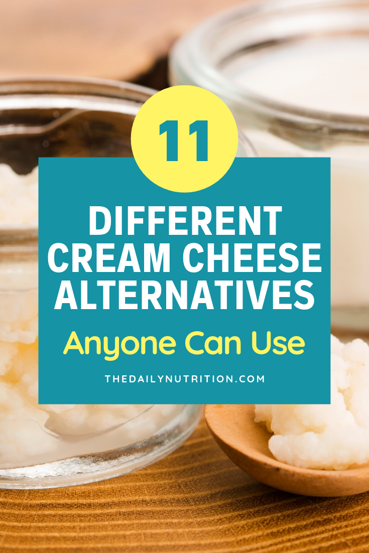 Cream cheese is delicious but not everyone can have it. Because of that, here are 11 cream cheese substitutes you can use.