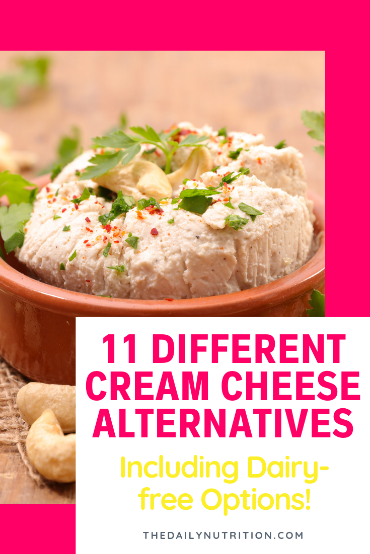 Finding a cream cheese substitute may be difficult. Here are 11 cream cheese substitutes that anybody can use.
