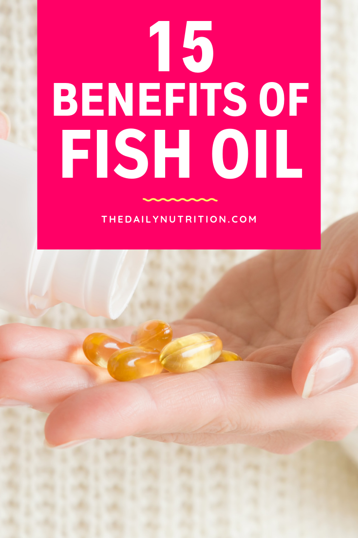 Here you can find 15 fish oil benefits that you should take advantage of.