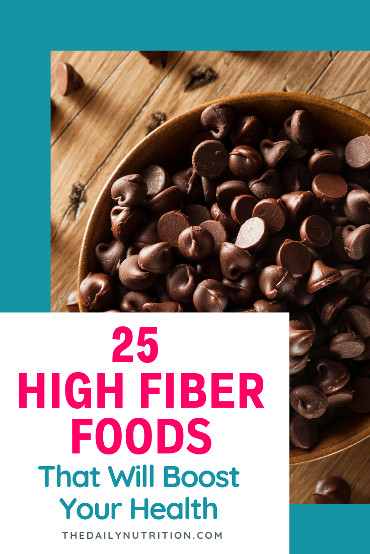 Eating fiber everyday and getting enough of it is difficult. Here are 25 high fiber foods you should eat.